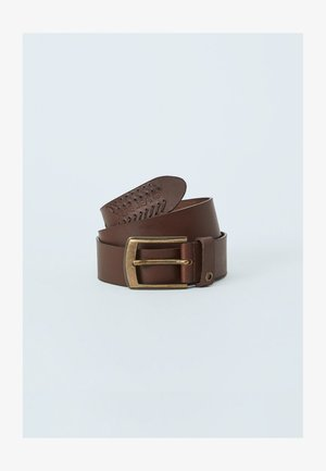 PAOLO  - Cinturón - marrón oscuro