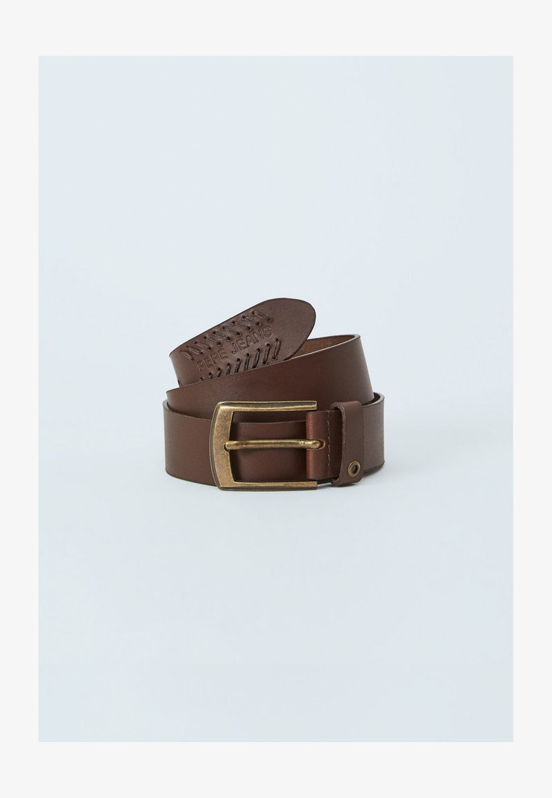 Pepe Jeans - PAOLO  - Belt - marrón oscuro
