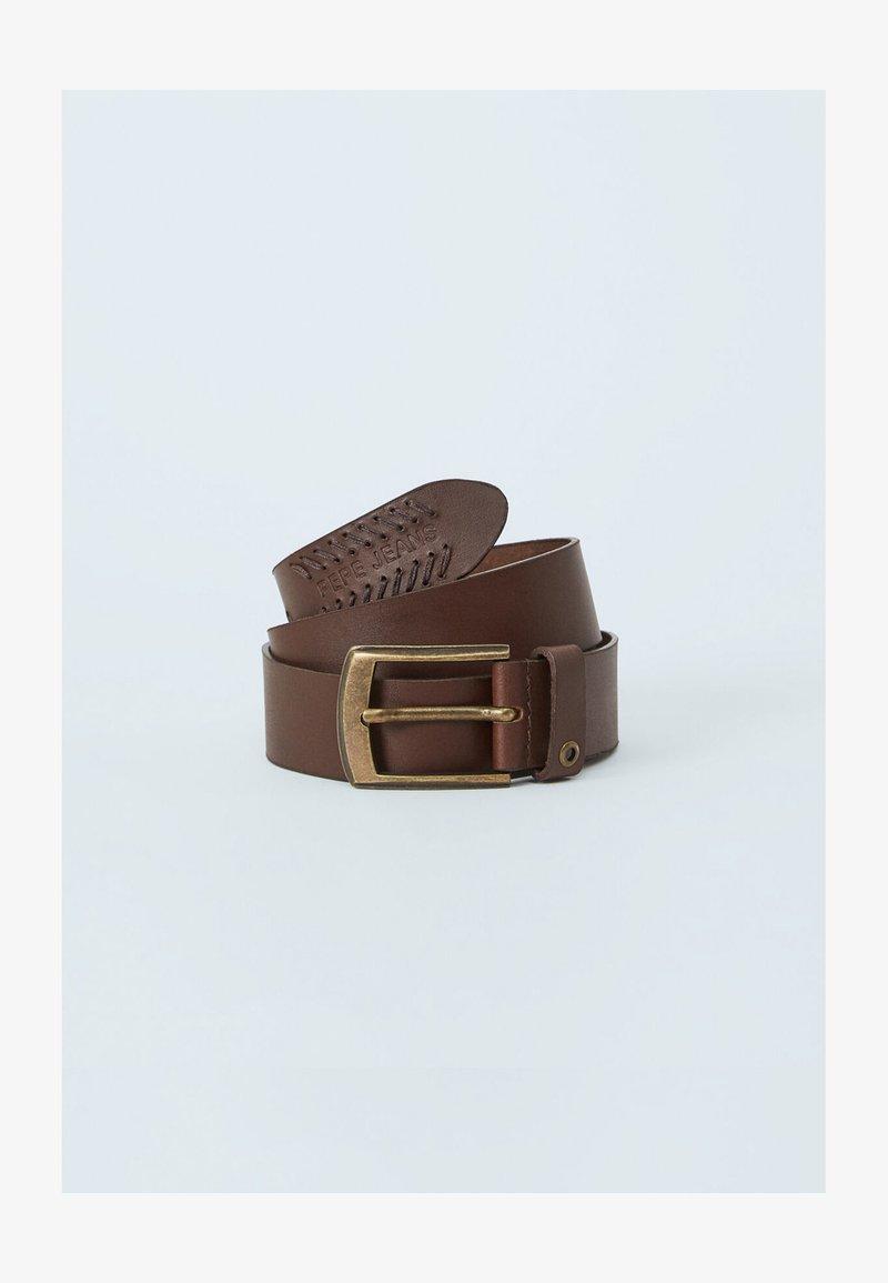 Pepe Jeans - PAOLO  - Pásek - marrón oscuro