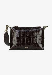 Abro - Across body bag - dark brown - 0