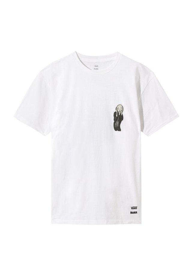 MOMA MUNCH - T-shirt z nadrukiem - (moma) edvard munch