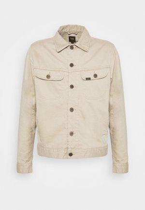 SERVICE RIDER  - Denim jacket - sand