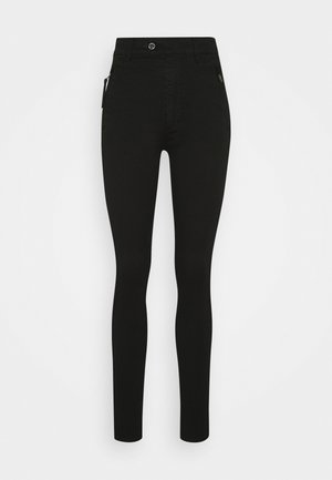 WELD HIGH SLIM  - Jeans Skinny - black