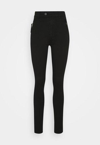 WELD HIGH SLIM  - Skinny-Farkut - black