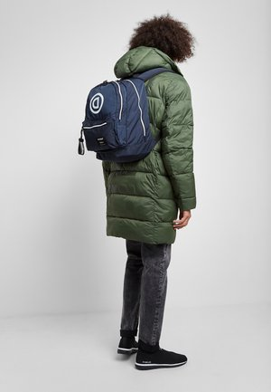 BY ECOALF - Rucksack - dark blue, white