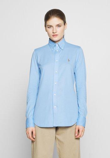 HEIDI LONG SLEEVE - Button-down blouse - blue lagoon
