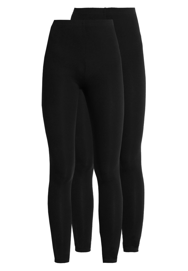 New Look - 2 PACK - Leggings - black
