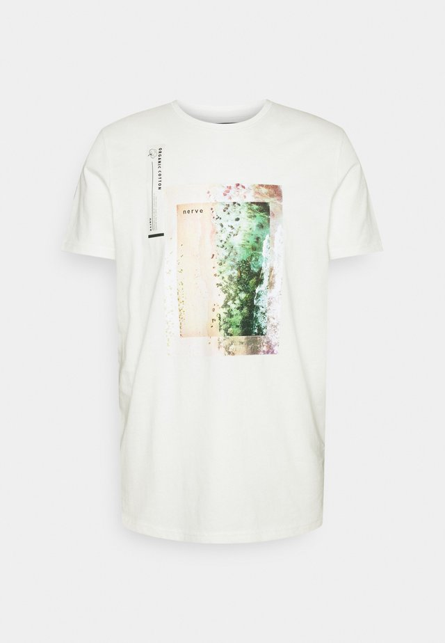 TEE - T-shirt con stampa - off white