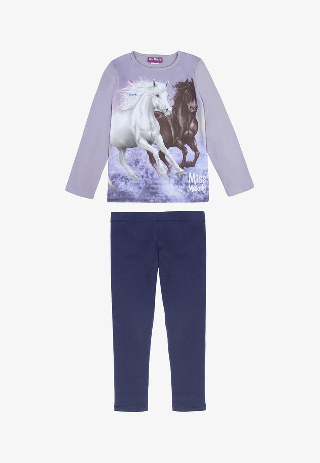 Pyjama set - twilight purple