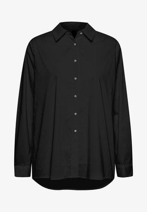 ANTONIETT - Button-down blouse - black