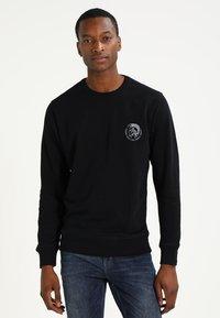Diesel - UMLT-WILLY SWEAT-SHIRT - Sweater - schwarz - 0