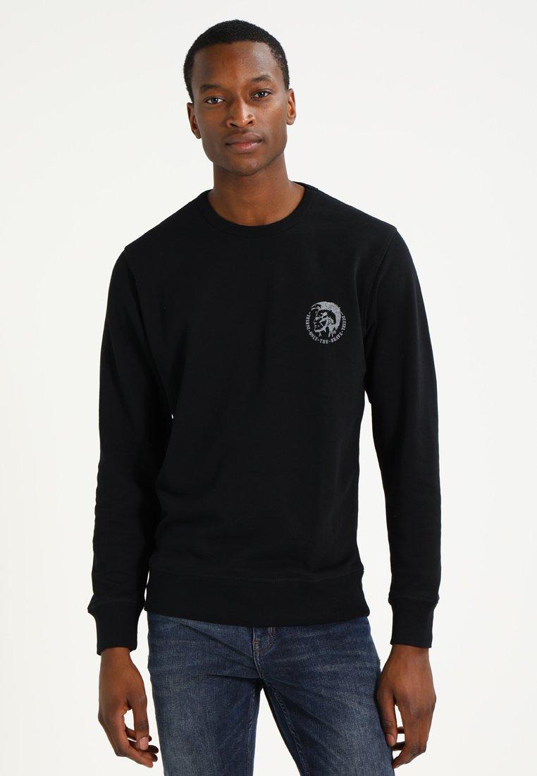 Diesel - UMLT-WILLY SWEAT-SHIRT - Sweater - schwarz