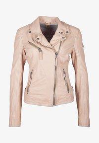 Gipsy - PGG LABAGV - Leather jacket - pink - 5