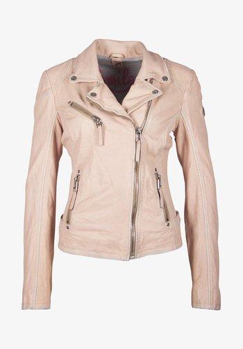 PGG LABAGV - Kožená bunda - pink