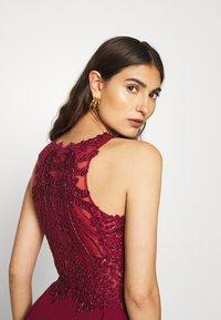 Luxuar Fashion - Společenské šaty - bordeaux - 3