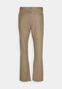 Brixton - CHOICE PANT - Kalhoty - vanilla houndstooth - 1
