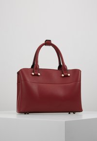 Dune London - DINIDARING SMALL UNLINED - Across body bag - oxblood red - 2