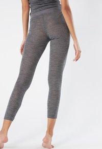 Intimissimi - LEGGINGS AUS WOLLE UND SEIDE - Leggings - Stockings - puzzle grigio - 1