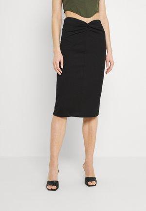 CONNA SKIRT - Pencil skirt - black