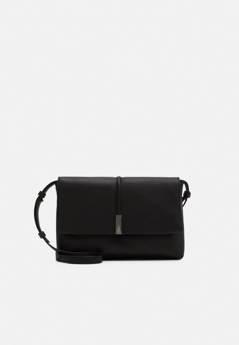Zign - LEATHER - Across body bag - black