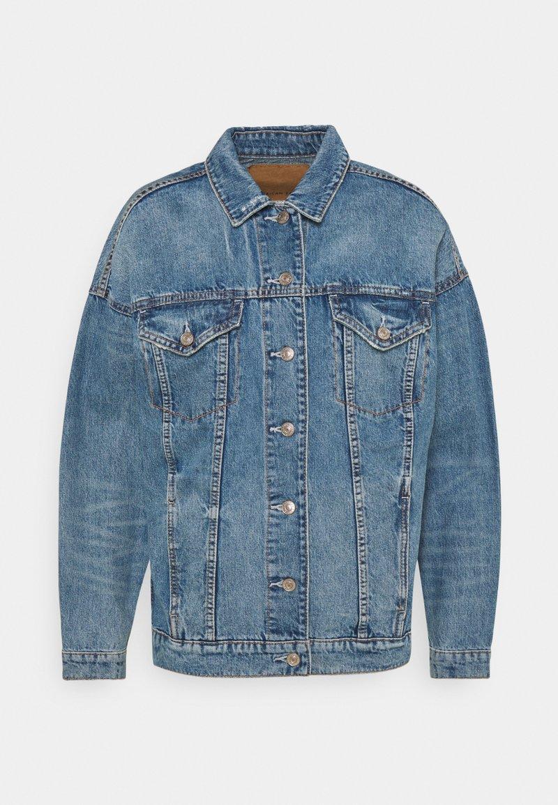 American Eagle - BOYFRIEND JACKET - Denim jacket - medium indigo