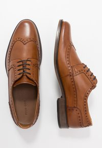 Pier One - Šněrovací boty - cognac - 1