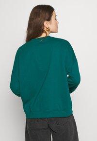 Even&Odd - BASIC OVERSIZE SWEATSHIRT - Sweatshirt - teal - 2