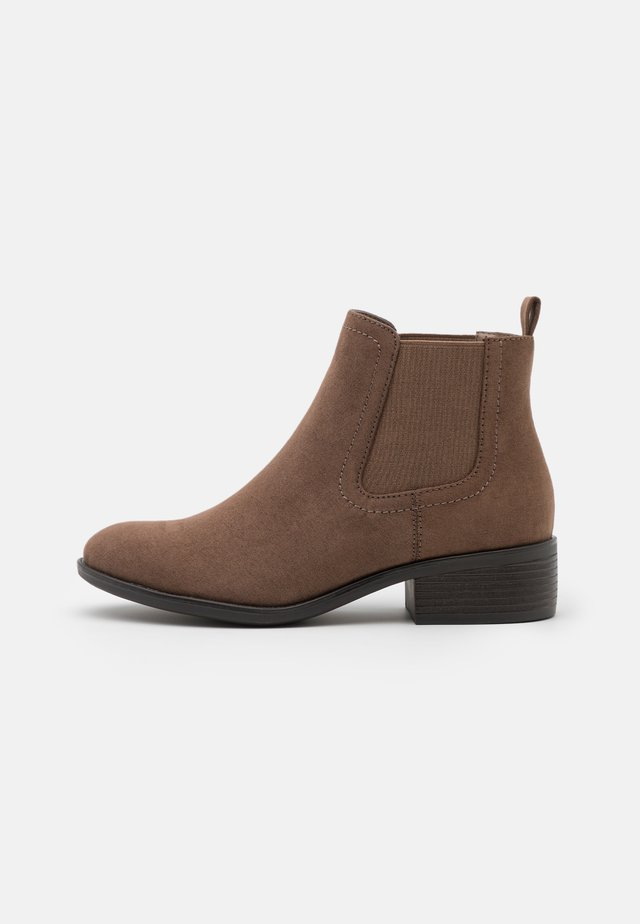 WIDE FIT MAPLE CHELSEA  - Ankle boots - taupe