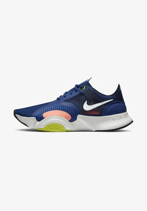 SUPERREP GO - Sports shoes - deep royal blue light bone cyber white