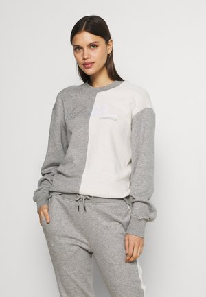 LOUNGE UNISEX - Pyjama top - grey melange