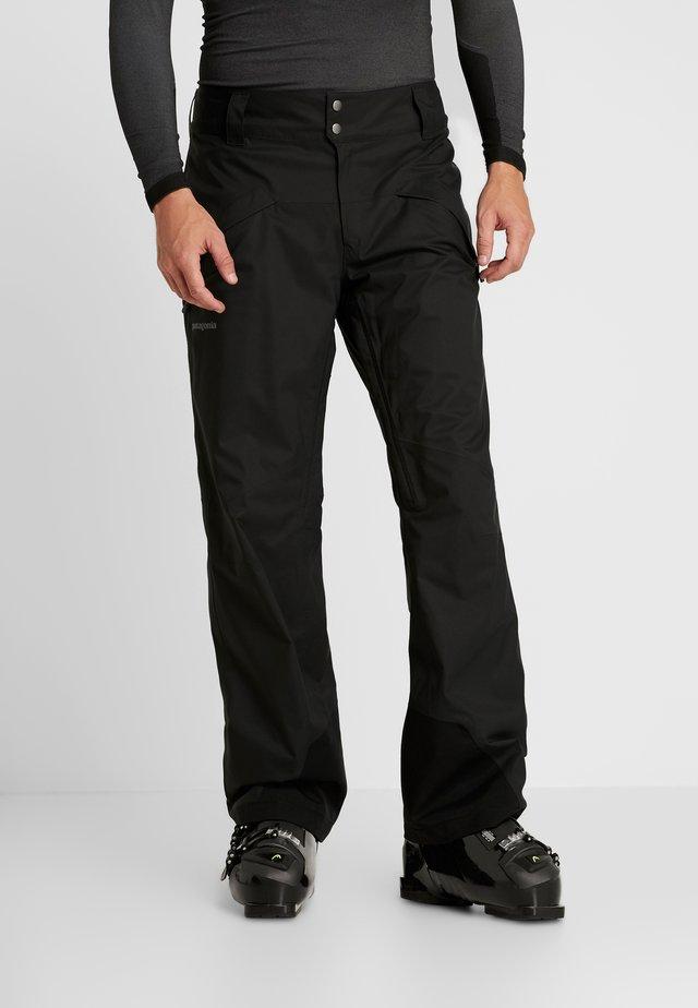 SNOWSHOT  - Pantalon de ski - black