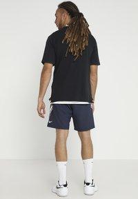 Nike Performance - DRY SHORT - Urheilushortsit - obsidian/white - 2
