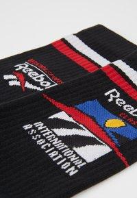 Reebok Classic - ASSOC CREW SOCK - Chaussettes - black - 2