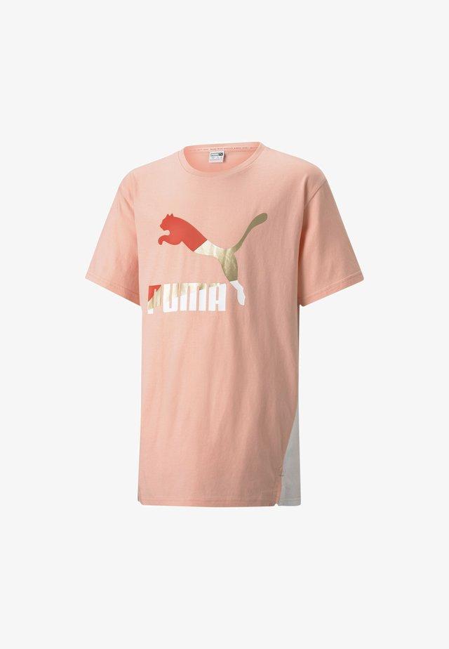 YOUTH TEE FLICKA - T-shirt print - apricot blush