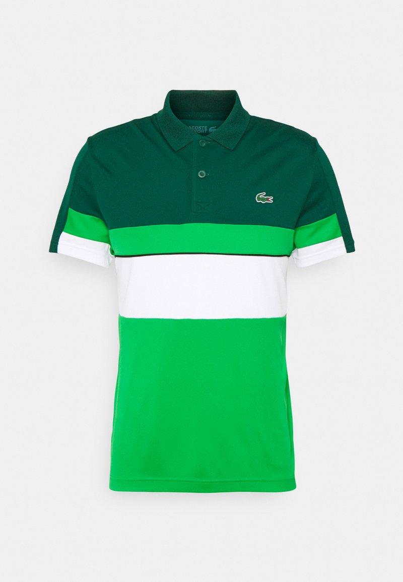 Lacoste Sport - TENNIS TOUR - Polo shirt - swing/white malachite/black