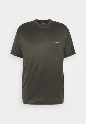 Jednoduché triko - dark green