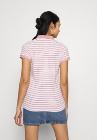 Superdry - STRIPE - Poloskjorter - pink - 2