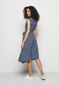 Lauren Ralph Lauren - DRESS - Abito a camicia - french navy/multi - 2