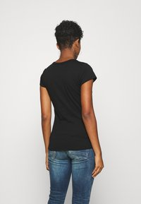 G-Star - WASH SLIM - T-shirt con stampa - black - 2
