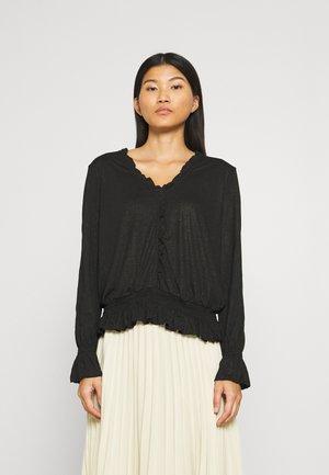 NAVIE - Long sleeved top - pitch black