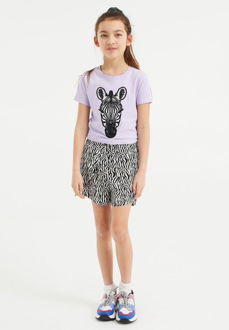 WE Fashion - T-shirts print - lilac