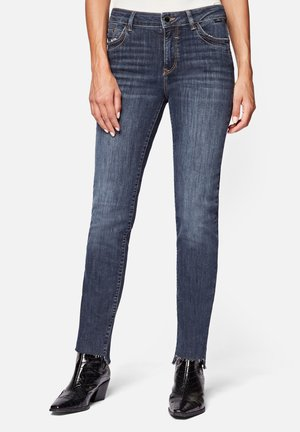 KENDRA - Straight leg jeans - blue black memory