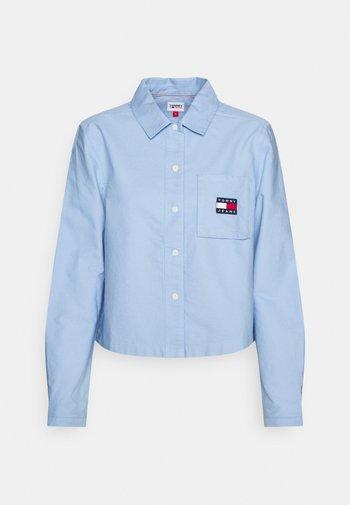 REGULAR BADGE SHIRT - Košile - moderate blue