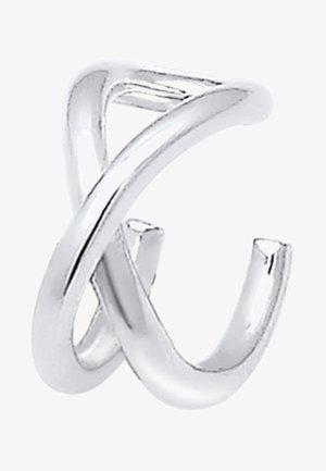 SINGLE GEO BASIC MINIMAL - Korvakorut - silver-coloured