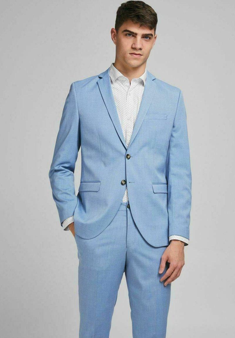 Jack & Jones PREMIUM - SLIM FIT - Blazer jacket - chambray blue