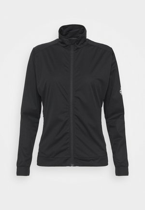 WOMENS WIND JACKET - Kurtka Softshell - black