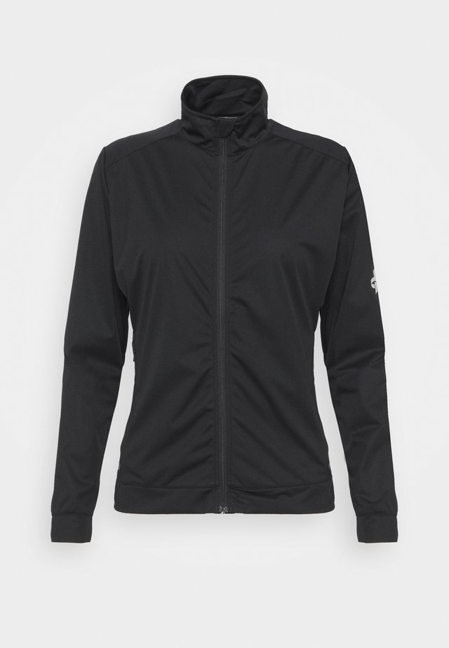 WOMENS WIND JACKET - Softshellová bunda - black