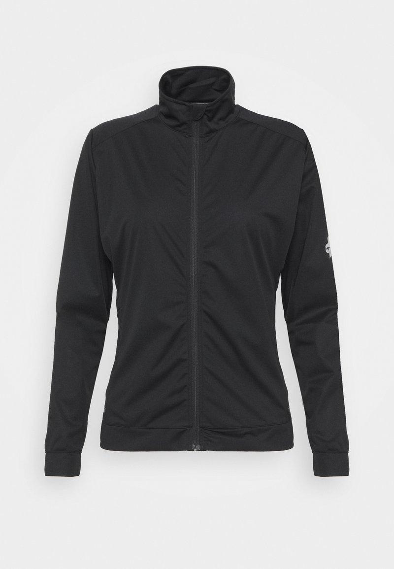 Cross Sportswear - WOMENS WIND JACKET - Softshellová bunda - black