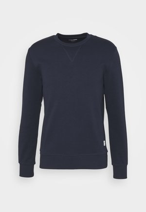 JJEBASIC CREW NECK - Collegepaita - navy blazer