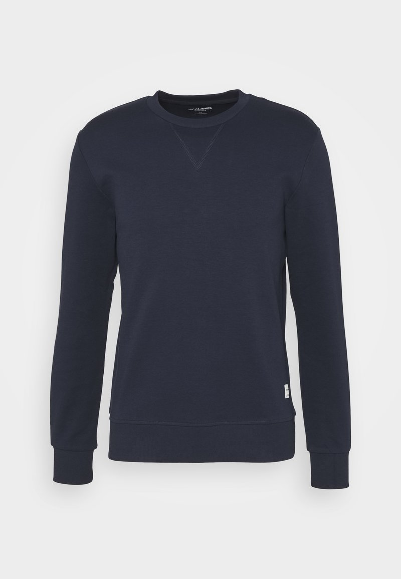 Jack & Jones - JJEBASIC CREW NECK - Collegepaita - navy blazer